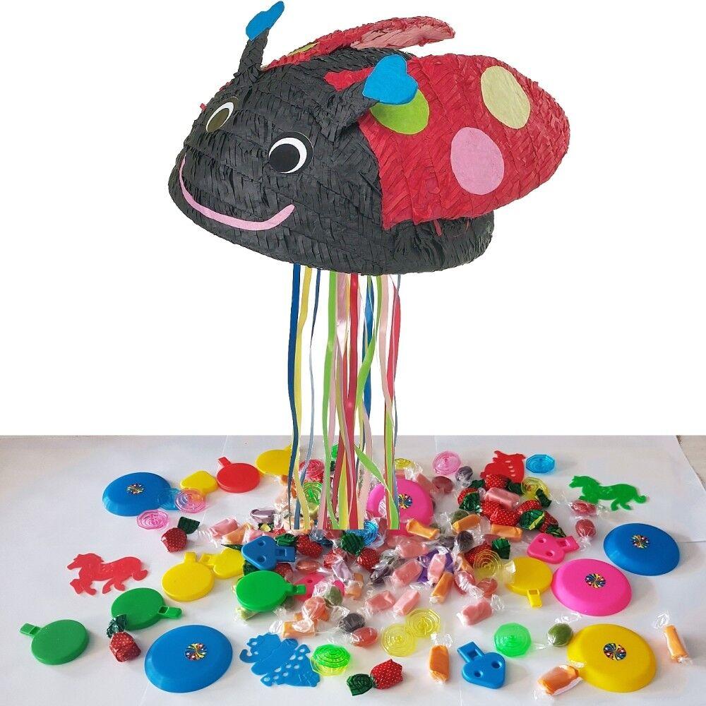 Ladybird Ladybug Partido Pinata C   Gancho Para Para Para Colgar, Pinata Palo y con los ojos vendados 1-5pk 8254f5