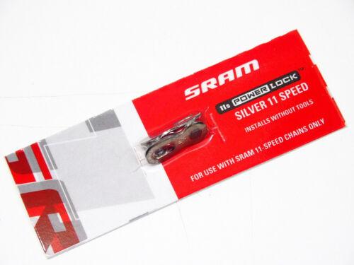 Chain Quick Link// Connector SRAM 11 Speed PowerLock 1 Link PowerLink Silver
