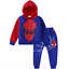 Kids-Boy-2Pcs-Spiderman-Clothes-Hooded-Sweatshirt-Tops-Pants-Tracksuit-Outfits thumbnail 8