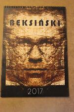 Original Calendar 2017 - 13 paintings by Zdzislaw Beksinski 2# KALENDARZ