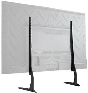 VIVO-Universal-LCD-Flat-Screen-TV-Table-Top-Stand-Base-fits-22-034-to-65-034-T-V