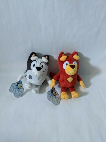 Muffin US Seller IN HAND BLUEY cousins friends Plush Toys Rusty
