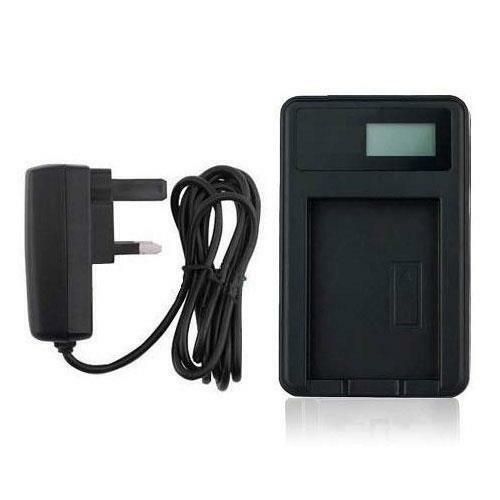 Battery Charger DMW-BCK7//NCA-YN101 USB Panasonic Lumix DMC-FS37 DMC-FT30