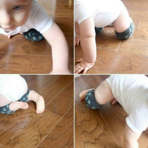 Safety Crawling Knee Elbow Pads Leg Protector Anti-Slip Infant Baby Toddler LC