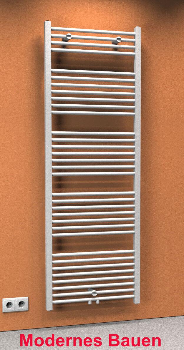 Schulte TURBO Badheizkörper gerade Mittelanschluss 60 x 170 cm, cm, cm, Handtuchwärmer 689cb1