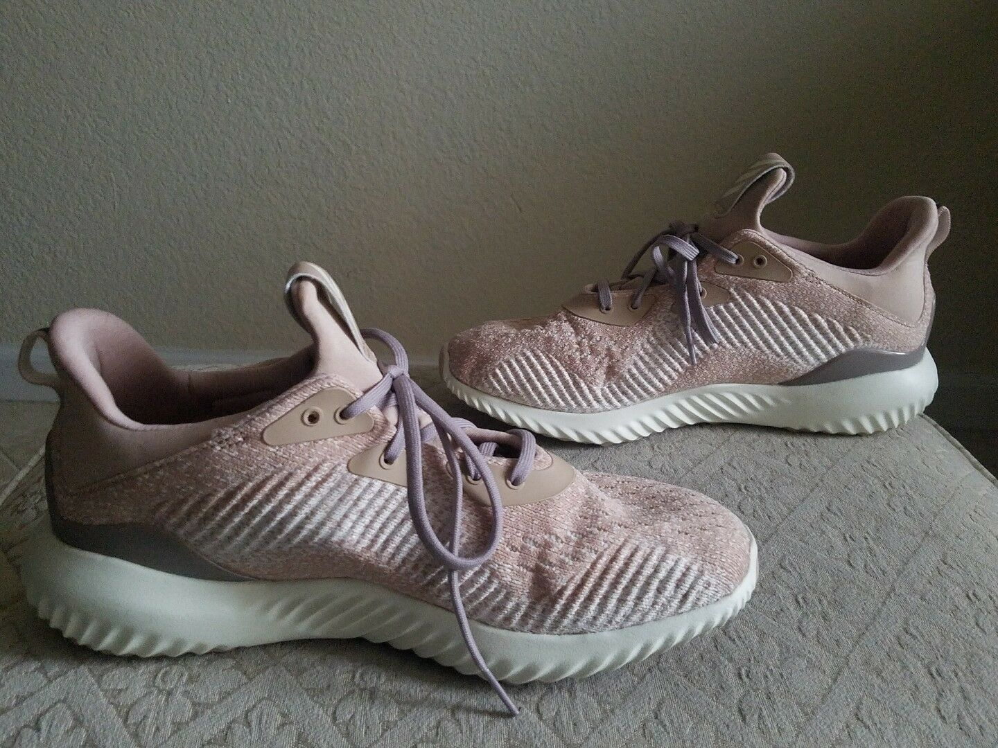 Adidas Women's Alphabounce 1 Running Shoe Sneakers Shoes Ash Pearl  8.5