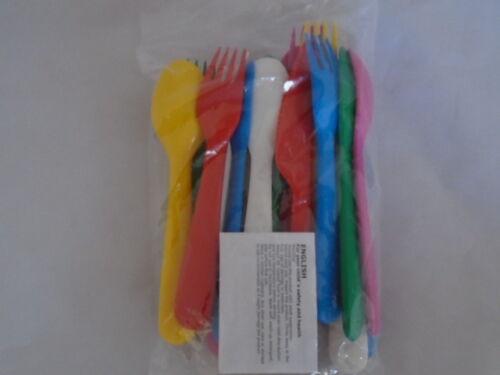 Ikea Kalas Children/'s Kids Plastic Cutlery 18 pieces