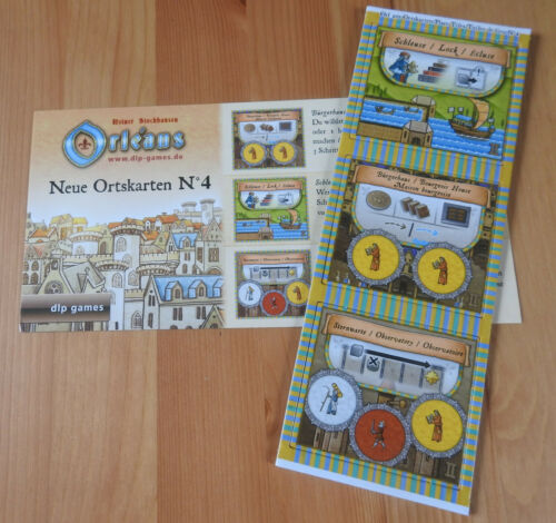 New Place Tiles No.4Mini ExpansionNewEnglish Rules Orleans