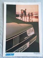 Fiat Regata range brochure Nov 1986