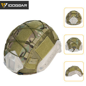 IDOGEAR-Tactical-FAST-Helmet-COVER-Combat-Gear-Airsoft-Multicam-Camo-Military