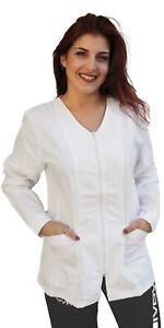 Casacca Lavoro camice Donna Parrucchiera Estetista Alimentari Maestra