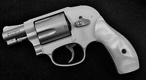 Details about J Frame Grips fits many Smith & Wesson S&W Mother of Pearl  MOP Bright Luster