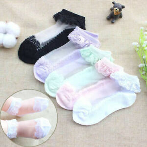 Baby-Girls-Fashion-Cotton-Lace-Sheer-Ruffled-Summer-Princess-Breathable-Socks