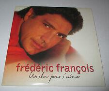 Frederic Francois - un slow pour s'aimer - cd  promo 1 titre 2001