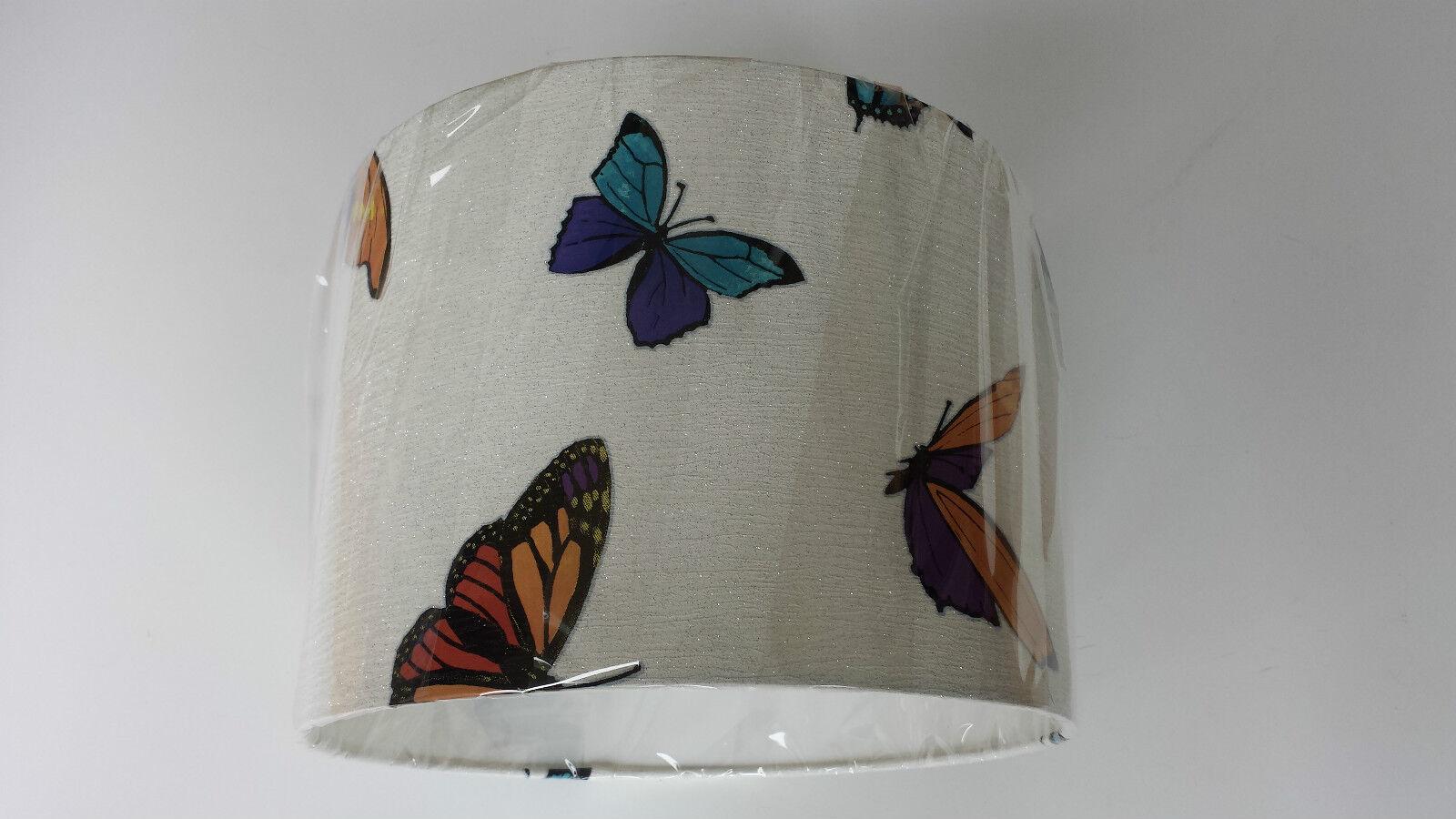 12   30cm Julian Macdonald flattern vorbei Schmetterlinge Tapete LAMPSHADE.Pearl    Elegante und robuste Verpackung