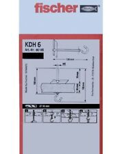 Fischer 80185 Kippdübel KD 6 VPE 25 Stück
