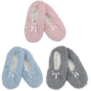 Womens-Slippers-Gripper-Socks-Slipper-Novelty-Xmas-Animal-Design-Cosy-Socks