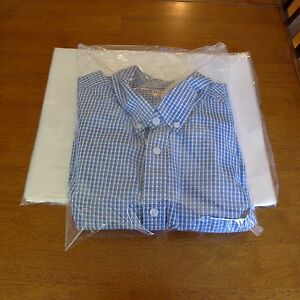 500 12 X 15 Poly Clear Plastic Dress Shirt T Shirt Bags