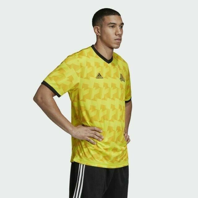 adidas Tango AOP Soccer Jersey Men's Sz Large Yellow DX2328 for ...