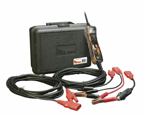 Power Probe 3 III PP319FIRE Flame Powerprobe Kit w//Voltmeter and Accessories New