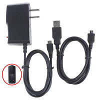 Ac/dc Power Adapter Charger+usb Cord For Visual Land Prestige Elite Me-8q Tablet
