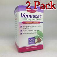 Venastat Natural Leg Vein Health Capsules, 105ct, 2 Pack 793190090158a1076