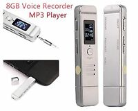 Hotkey 8gb Usb Lcd Screen Digital Audio Voice Recorder Dictaphone Mp3 Player