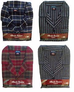 Mens-Pyjamas-Flannel-Winceyette-Brushed-Cotton-Winter-Pyjamas-SIzes-M-to-XXL