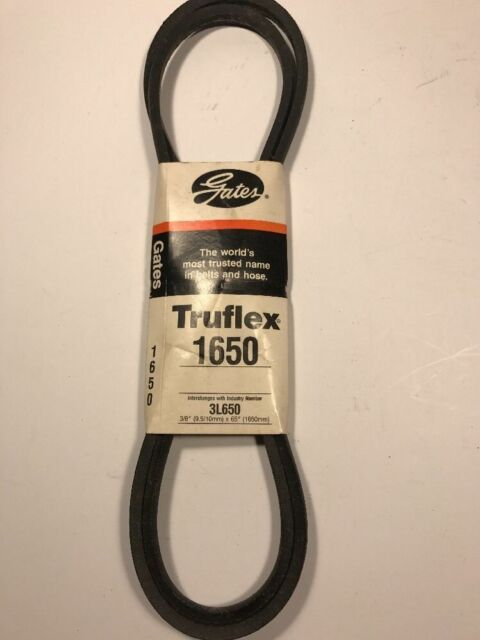 "GATES TRUFLEX 1650 BELT 3//8/"" X 65/"" FREE SHIPPING"