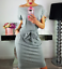 Women-Solid-Pockets-Slim-Pencil-Dress-Bodycon-Casual-Short-Sleeve-Party-Cocktail thumbnail 7