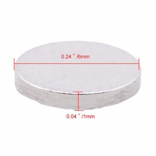 10-100x Neodym Magnete super stark Scheiben Würfel Neodym Pinnwand Quader Round