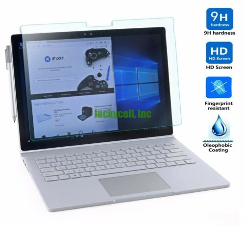 Microsoft Surface Pro RT 1 2 3 4 Book Premium Tempered Glass Screen Protector