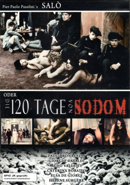 Pasolinis Salo , uncut , dvd , italian and german audio , 120 Tage von Sodom
