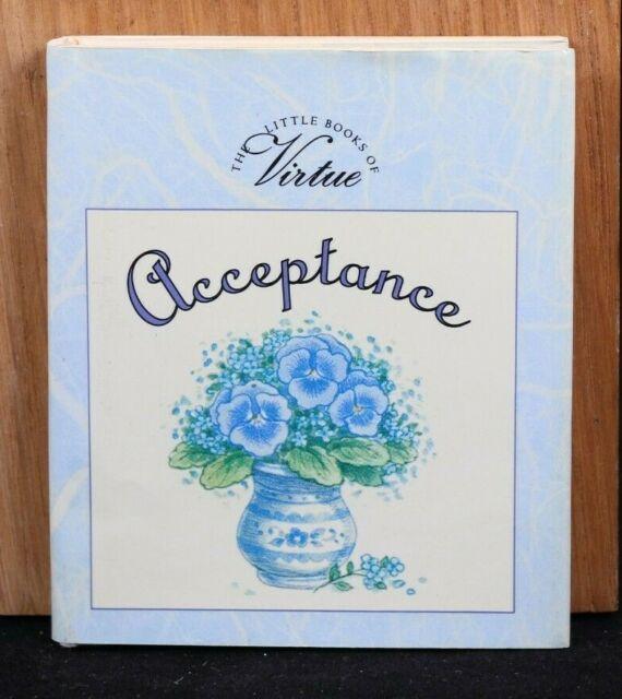 VG! Acceptance (Little Book of Virtue) Miniature Gift Book 1995 HC/DJ