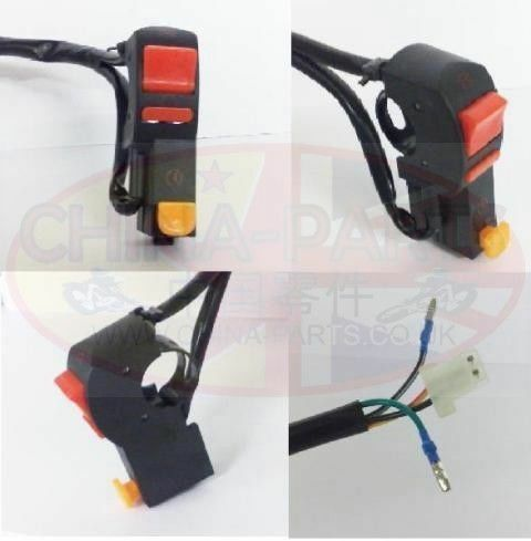 Right Handlebar Switch for Zongshen LZX 125 GY-A