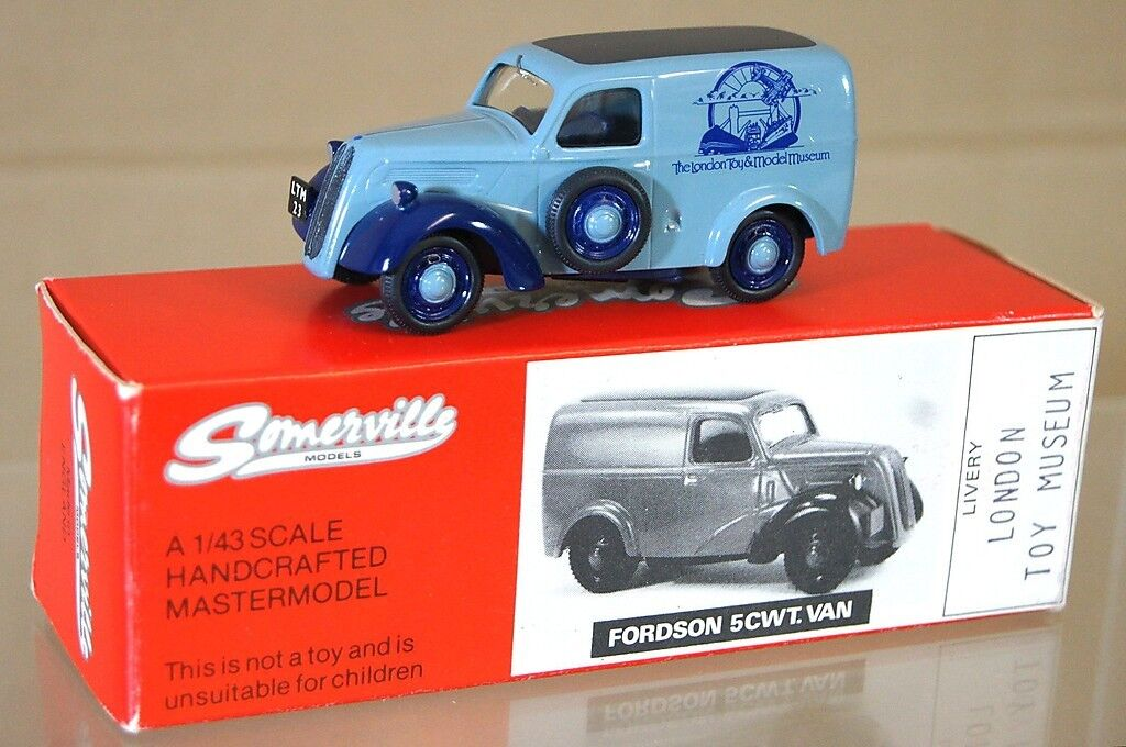 SOMERVILLE MODELS 1949 FORDSON E494C 5CWT VAN THE LONDON TOY & MODEL MUSEUM na