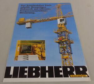 Brochure Liebherr Neuartiges Hoist With Litronicfrequenzumrichtersteuerung ´94