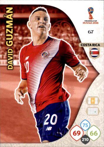 David Guzman Panini WM Russia 2018 67 Team Mate Nr
