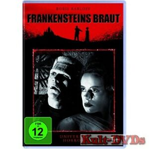 Frankensteins-Braut-DVD-Borlis-Karloff-Colin-Clive-Neu-OVP