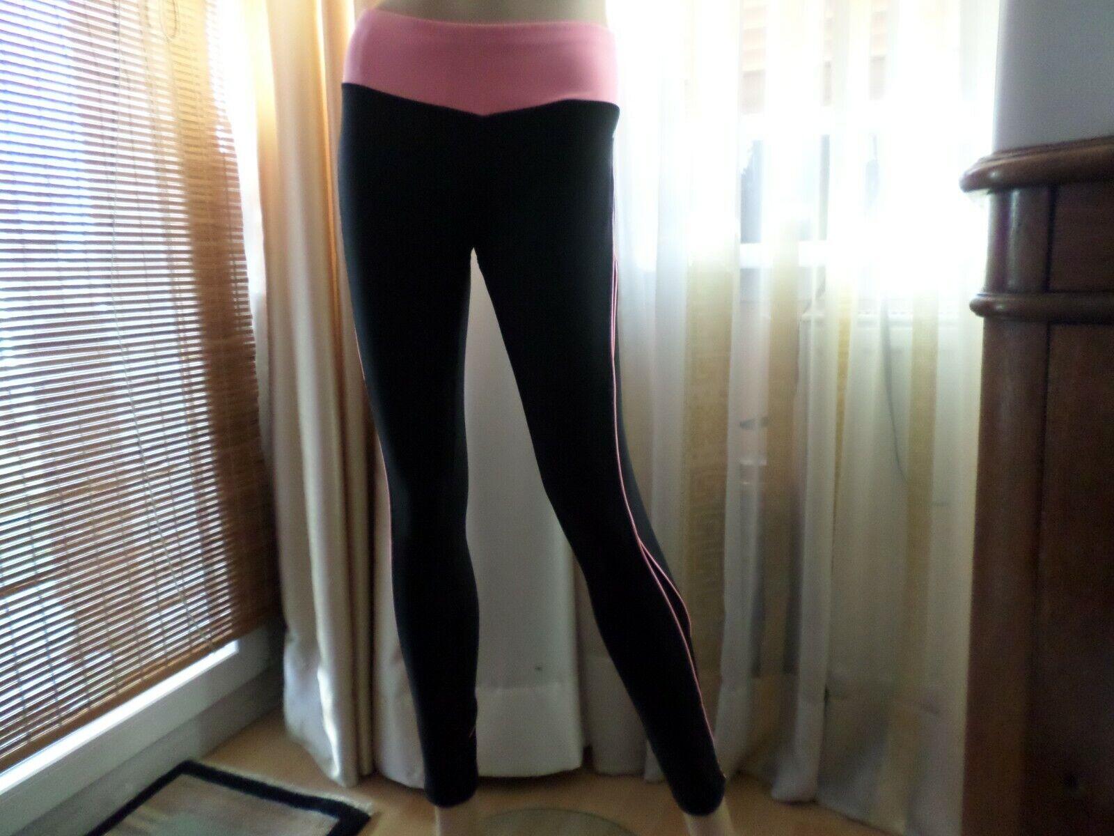 Damen Sport-Tights von AVIA Gr.S Polyester schwarz neu