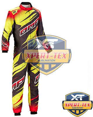 Martini  Digital Sublimation print  Go Kart Race Suit CIK//FIA Level 2