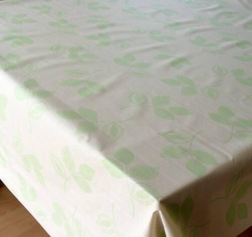Meterware abwaschbar Tischdecke Baumwolle beschichtet 140cm breit Jadin
