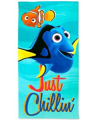 "Disney Finding Dory /""No Talking/"" Beach Towel"
