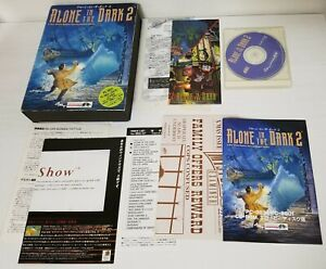 NEC PC-9801 PC-9821 PC98 Alone in The Dark 2 CD-Rom Big Box CIB New Japan 0329A9
