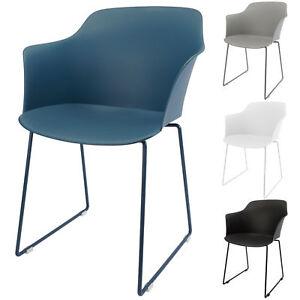 Das Bild Wird Geladen Armlehnen Stuhl Esszimmerstuhl Gartenstuhl  Schalensessel UV MIKU 2
