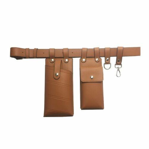 Ladies Waist Bag Leather Crossbody Chest Fanny Pack Stylish Streetwear Accessory