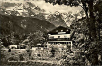 Partenkirchen Bayern Oberbayern AK ~1950/60 Forsthaus Graseck Berggasthof Hotel