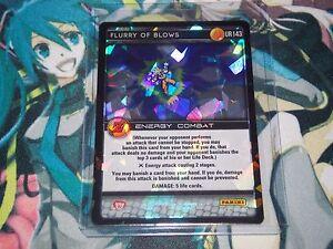 Losse kaarten spellen Dragon Ball Z DBZ CCG Tcg Panini Awakening Ultra Rare Flurry of Blows