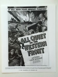 All-Quiet-On-The-Western-Front-Movie-Still-Lobby-Card-Print-Of-Poster