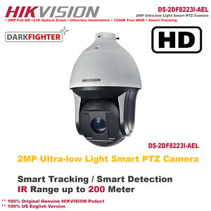 Details about Hikvision 2MP Ultra-low Light Smart PTZ Camera/Smart  Tracking/Smart Detection